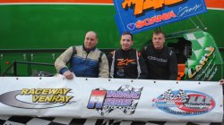 Top 3 eerste race Dutch Tarmac Series 2015